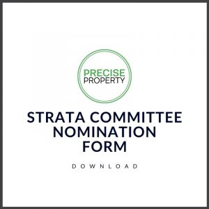 Strata Committee Form