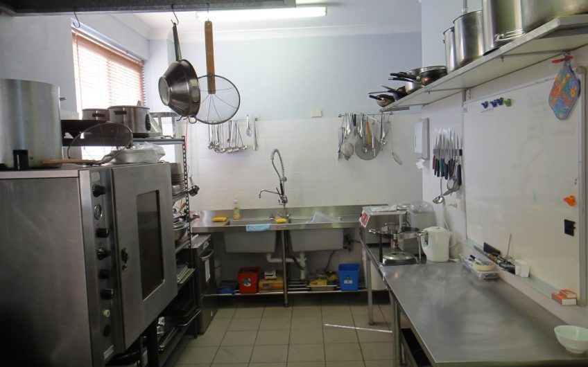 """""""Plug and Play"""" Fully Approved Industrial Kitchen"""
